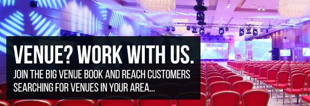 Venue? Work with us.