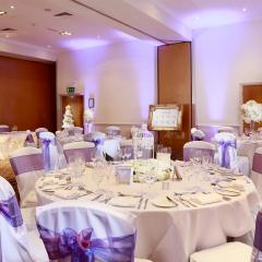 Hampshire Grove Suite Wedding Breakfast Photo