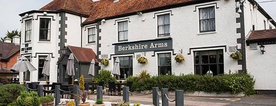 Berkshire Arms Drinks Menu