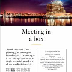voco St David's Cardiff - Meetings in a box