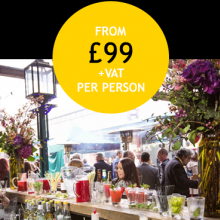 Tobacco Dock - Summer Party Packages