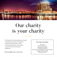 voco St David's Cardiff - Charity Package