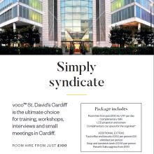 voco St David's Cardiff - Simply Syndicate