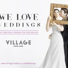 Village Hotel, Bournemouth - LOVED UP WEDDING DAY PACKAGE