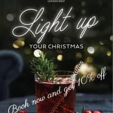 Novotel London West - Light up Your Christmas at Novotel London West