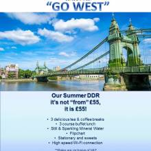 "Novotel London West - Go West - Our DDR – it's not ""from"" £55, it is £55!"