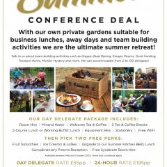 The Olde Bell - Summer Conference Offer