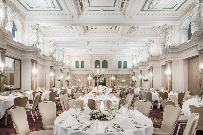 Bloomsbury ballroom london wedding