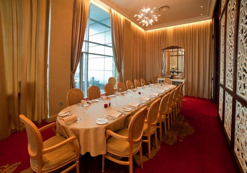 Red Leaf Private Dining Room - Alea Casino Glasgow