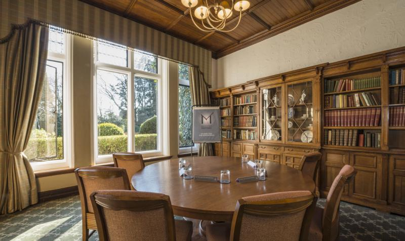 Library - Macdonald Frimley Hall Hotel & Spa
