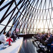 Exclusive Hire of HELIX and IRIS, Searcys at The Gherkin - Searcys at The Gherkin