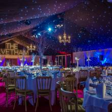 Winter Conservatory Marquee - The Elvetham Hotel