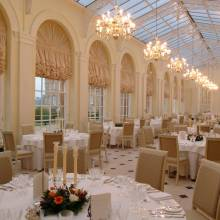 THE ORANGERY AND THE BOUCHAIN ROOM - Blenheim Palace